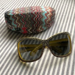 NWOT Missoni Oversized Sunglasses